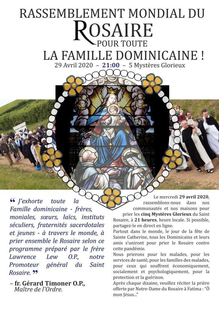 Rassemblement du Rosaire 2020